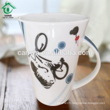 Food contact safe popular ceramic tea cafe cups mug