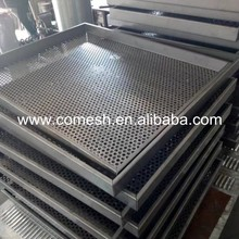 Perforated Stainless Steel Round Hole Drying Tray