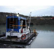 Bomba de draga de río Extracción de arena con motor diesel Aprobado CE