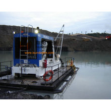 Rio draga bomba extrair areia com motor diesel CE Aprovado