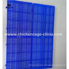 Rejilla plástica barata del piso para el piso plástico de la rejilla del perro y del perro (buena calidad, hecha en China)
