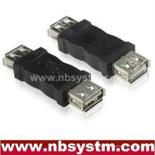USB A weiblich zu einem weiblichen Adapter