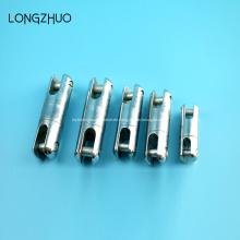 Poste línea hardware acero conector de cable giratorio