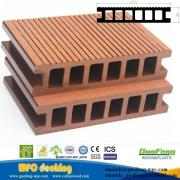 Anti-slip weather-resistant durable wood plastic composite decking/WPC floor/WPC Decking                                                                                                         Supplier's Choice
