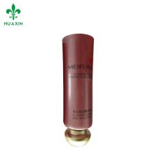 Embalaje cosmético suave de los tubos de Guangzhou para los productos cosméticos diseño de empaquetado personalizado del tubo de la crema de la mano