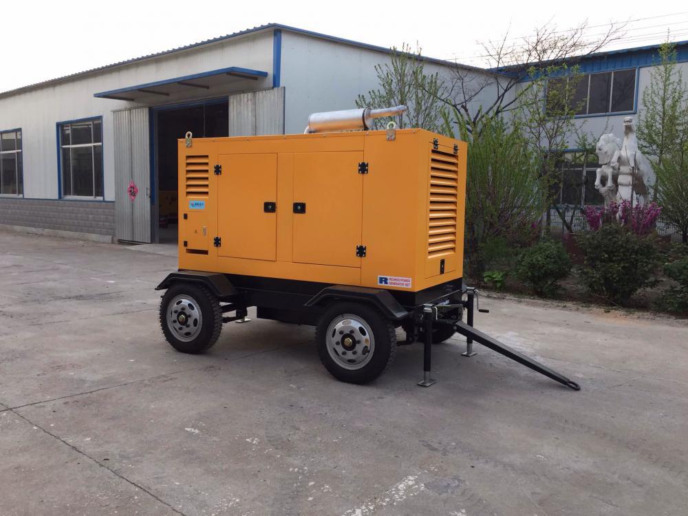 180KVA 4 Wheels Portable Generating Set