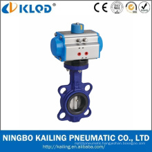 Actuator Manufactor Pneumatic Butterfly Valve