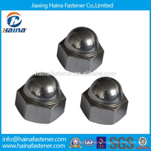 DIN standard Made in China A2 domed cap nut Stainless steel acorn nut