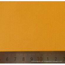 Gelbe Polyester Baumwolle Twill T/C Webstoff