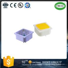 Druckschalter, 15 * 15mm 19 * 19mm Druckschalter mit LED, Mini Druckschalter, kleine Druckschalter mit LED