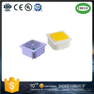 Botão Interruptor, 15 * 15mm 19 * 19mm Botão Interruptor com LED, Mini Botão Interruptor, Pequeno Botão Interruptor com LED