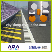 Reflective road paint, reflective road marking paint