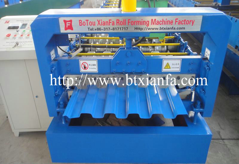 Trapezoidal Panel Making Machine