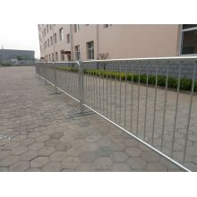 Removable Galvanized Crowd Control Barrier
