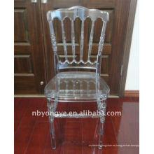 Resina de cristal napoleón silla