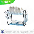 22 Inch Stainless Steel Black Powder Coating Dish Drying Rack
