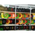 Solid Rubber PU Foam Tyre Wheel for Hand Trolley
