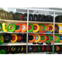 Solid Rubber PU Foam Tyre Wheel for Hand Trolley
