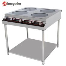 cocina de inducción de gran tamaño