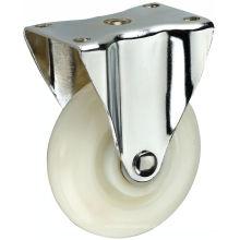 Ruedita giratoria PP blanca de 3 pulgadas de tamaño mediano