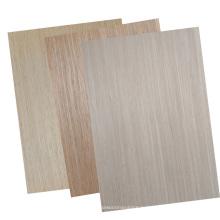 Твердая древесина в европейском стиле натурального дерева шпон двери кожа