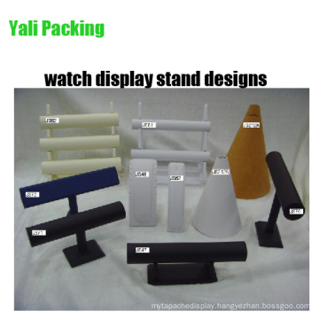 Leather PU Tiers Watch Display Stand Designs (JS serie)