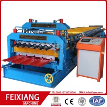 Metal sheet roofing sheet double layer tile forming machine