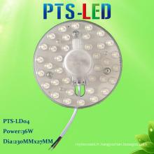 New Style facile remplacer SMD 2835 AC sans conducteur LED plafond léger Module 36W 220V