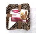 Flannel and Sherpa Double layer Blanket