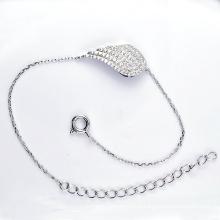 925 prata cúbicos zircônia jóias pulseiras (K-1752 JPG)