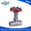 200psi Thread Stainless Steel Globe Valve (J11W)