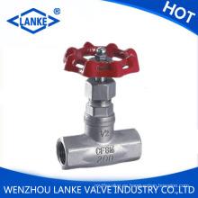 Válvula de globo con rosca End 200wog para aceite de agua