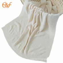 Couverture de coton douce superbe de bébé de luxe pour l'automne