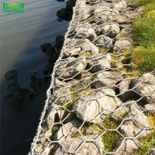 Putar Ganda Hexagonal Heavy Galvanized Woven Gabion Basket
