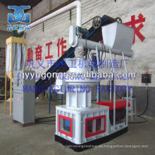 LGX-900 modelo de biomasa pellets máquina, molino de pellets de cáscara de arroz