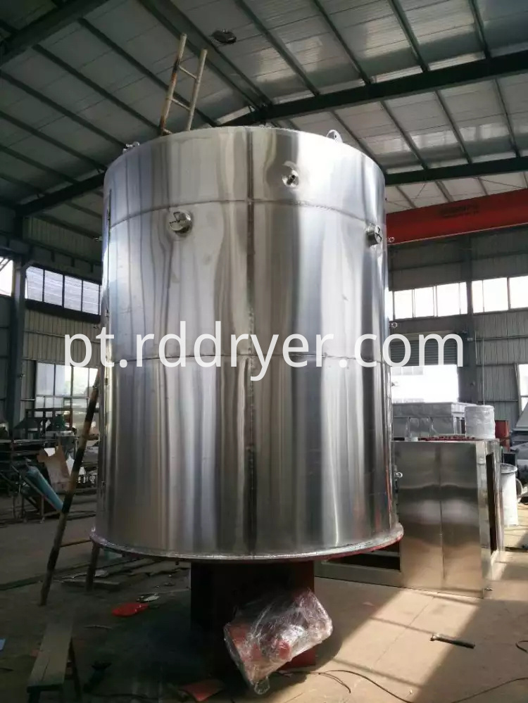 Mass and Heat Transfer Continuous Plate Dryer