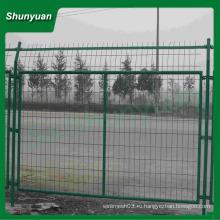 ПВХ покрытием сварной забор / каркасные сетки ограждения / ограждения сетки (производитель)