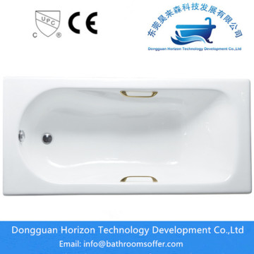 acrylic standard size of tub