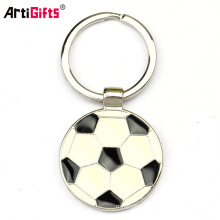 Factory Direct Wholesale Promotion Custom Cheap Souvenir Keychain Soccer