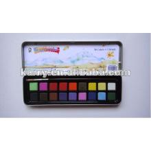 Pintura de água profissional ajustada da cor de água de 8 cores