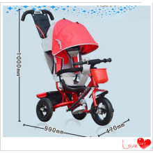 New Red Convertible Adjustable 4-in-1 Baby Kids Stroller Kids Toddler Tricycle