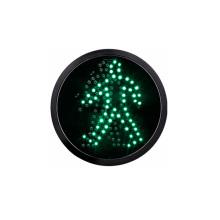 200mm 8 inch LED Traffic Light manufacturer green pedestrian optical