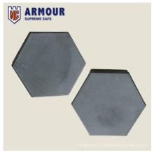 Telha de carboneto de silício hexagonal
