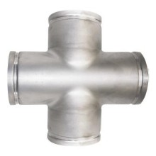 Stainless Steel Thin Wall Pipe Groove Fitting Equal Cross