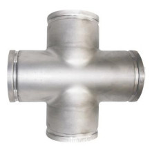 Thin Wall Pipe Groove Fitting Equal Cross