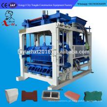melhor escolha QT 6-15 máquina de fabricação automática de tijolos de cinza