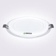 Venta al por mayor de fábrica LED Panel de luz 6W12W16W24W redondo de vidrio Ce RoHS