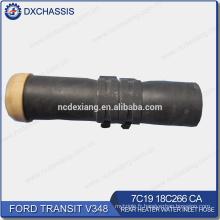 Tuyau d'entrée d'eau de radiateur arrière du véritable transit V348 7C19 18C266 CA