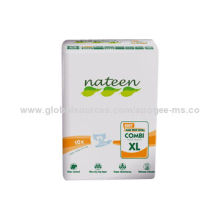Disposable Breathable Super Absorbent Adult Diaper, Free Samples, Leg Elastic and Leak Guard