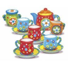 Crie seu próprio conjunto de chá mini